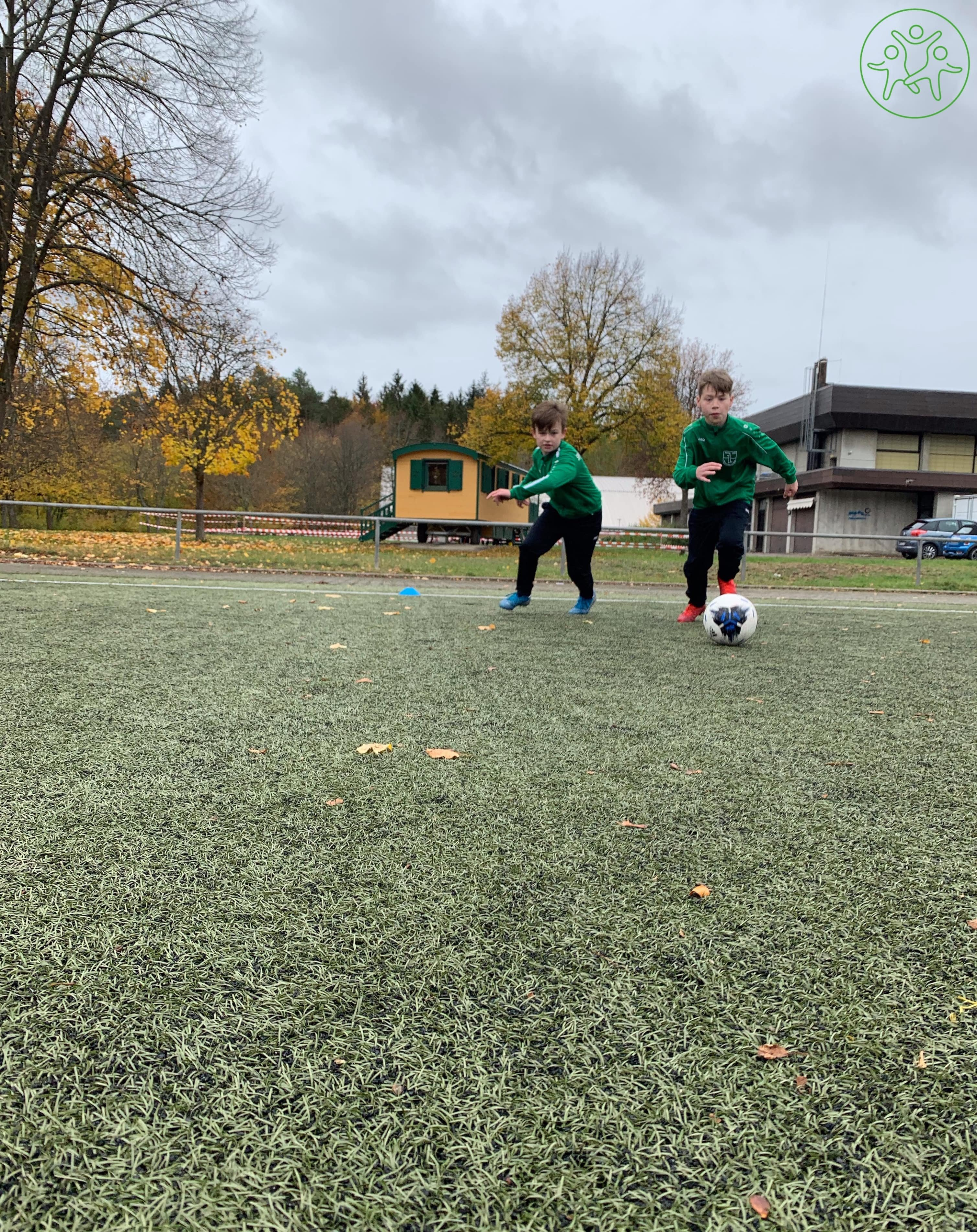 Fussball-Camp-Dribbling-Eins-vs-Eins-Spass